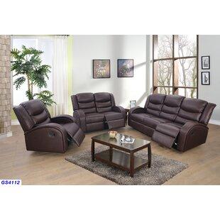Mcpeak 3 Piece Living Room Set by Latitude Run