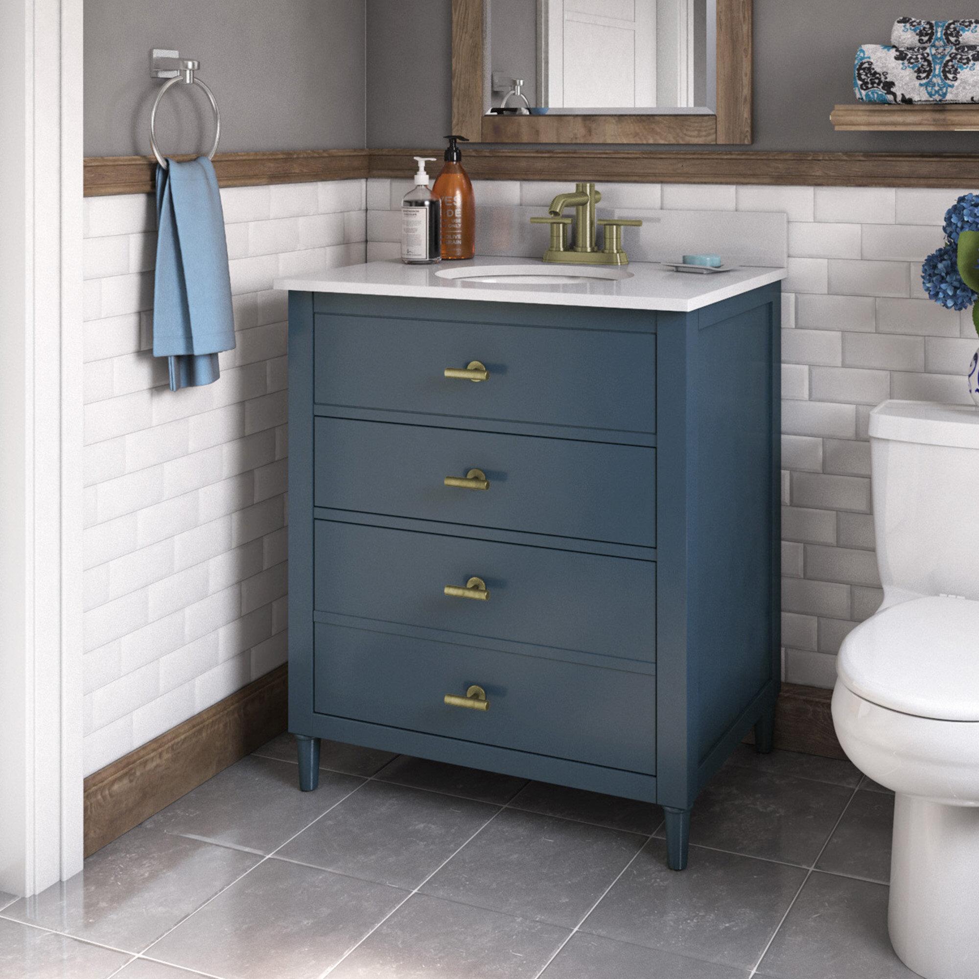 Highland Dunes Lasher 30 Single Bathroom Vanity Set Reviews