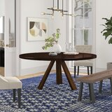 Bradford Poplar Solid Wood Dining Table by Foundstone™