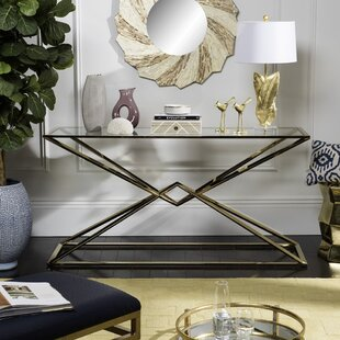 Nyle Console Table by Willa Arlo Interiors Great price