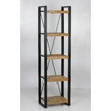 Rushmere 78 H x 21 W Metal Etagere Bookcase by 17 Stories