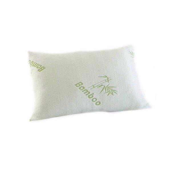 Alwyn Home Original Hotel Bamboo Rayon Comfort Memory Foam Pillow Custom Hotel Comfort Bamboo Covered Memory Foam Pillow