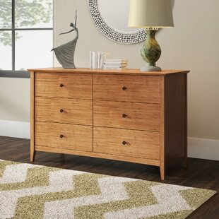Price comparison Ethelsville 6 Drawer Double Dresser by Wrought Studio