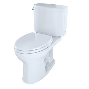 Drake II 1.28 GPF Elongated Two-Piece Toilet by Toto