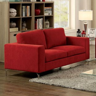 Shop Lightfoot Contemporary Loveseat by Orren Ellis