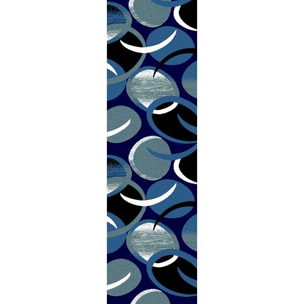 Ivy Bronx Mccampbell Abstract Gray Blue Black Area Rug Reviews Wayfair