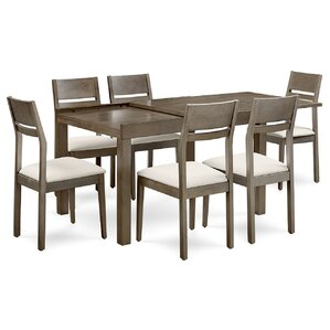 Tucanae 7 Piece Dining Set by Brayden Studio