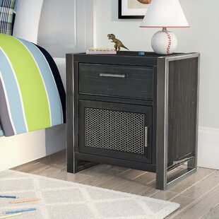Delphine 1 Drawer Nightstand