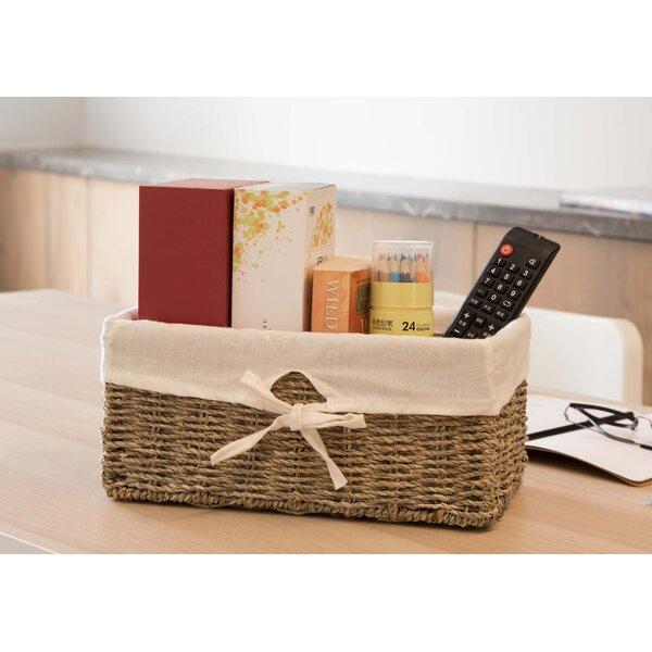 Daily Easy Clean Mini Portable Solid Desktop Stationery Bedroom Storage Basket
