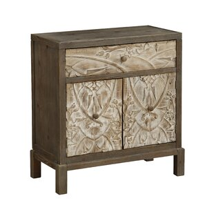 Morford 1 Drawer 2 Door Cabinet