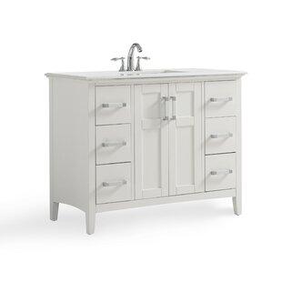 Inch Vanity With Top Wayfair - 42 inch bathroom vanity with top