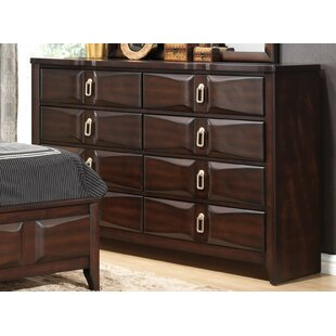 Elidge 8 Drawer Double Dresser by DarHome Co Sale