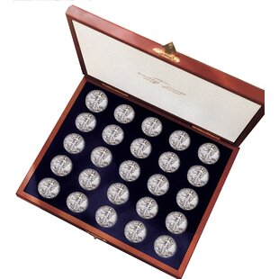 Complete Walking Liberty Half Dollar Collection Display Box By American Coin Treasures