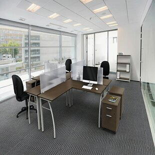 Beatriz L-Shape Executive Desk