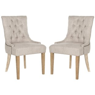Affordable Tamara Upholstered Dining Chair (Set of 2) by Ophelia & Co. Reviews (2019) & Buyer's Guide