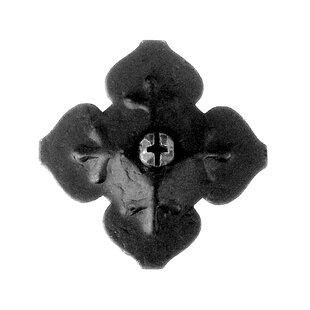 1.5 H ? 1.5 D Clover Door Boss by Acorn