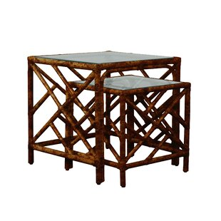 Chippendale 2 Piece Nesting Table
