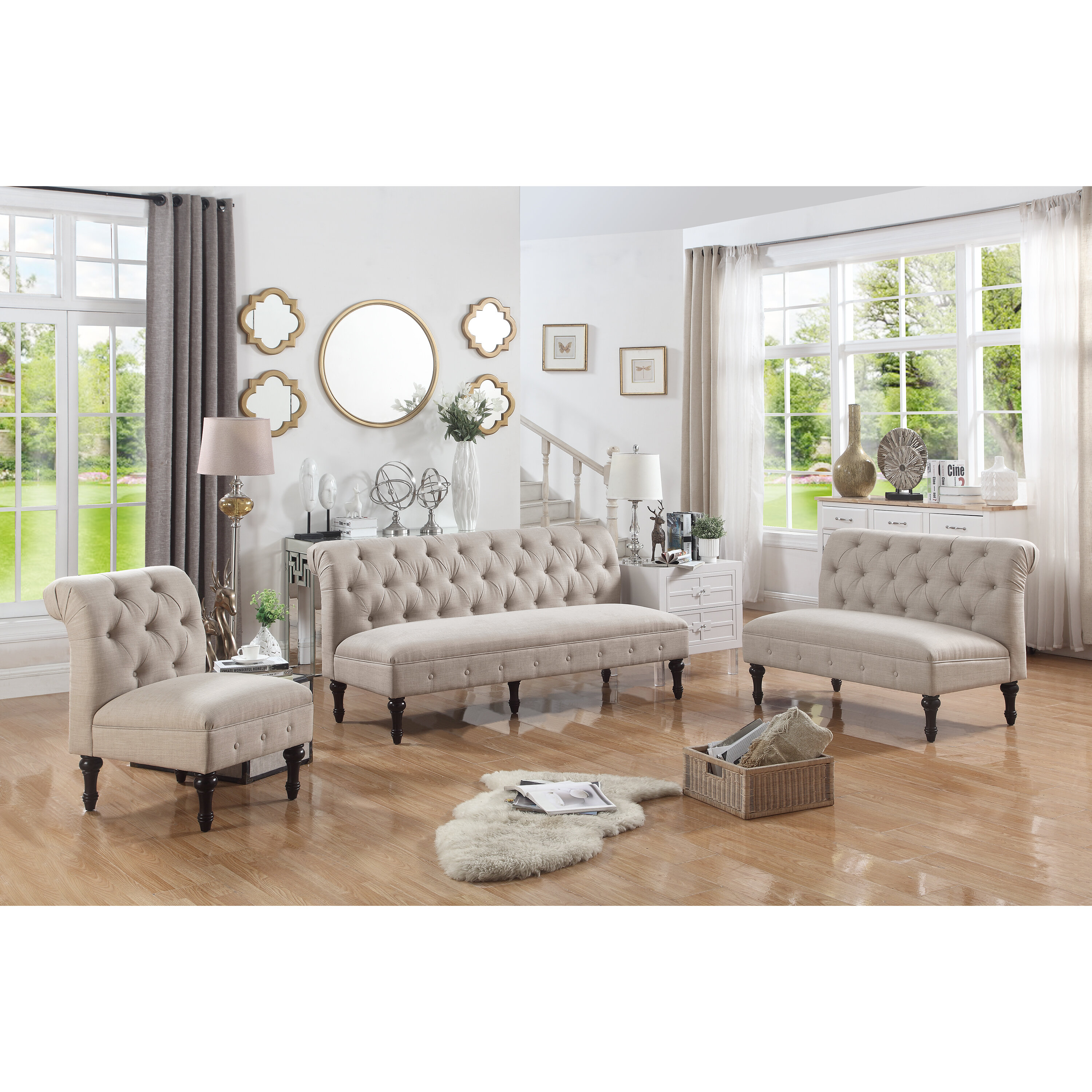 Ophelia & Co. Lauryn Living Room Collection & Reviews | Wayfair
