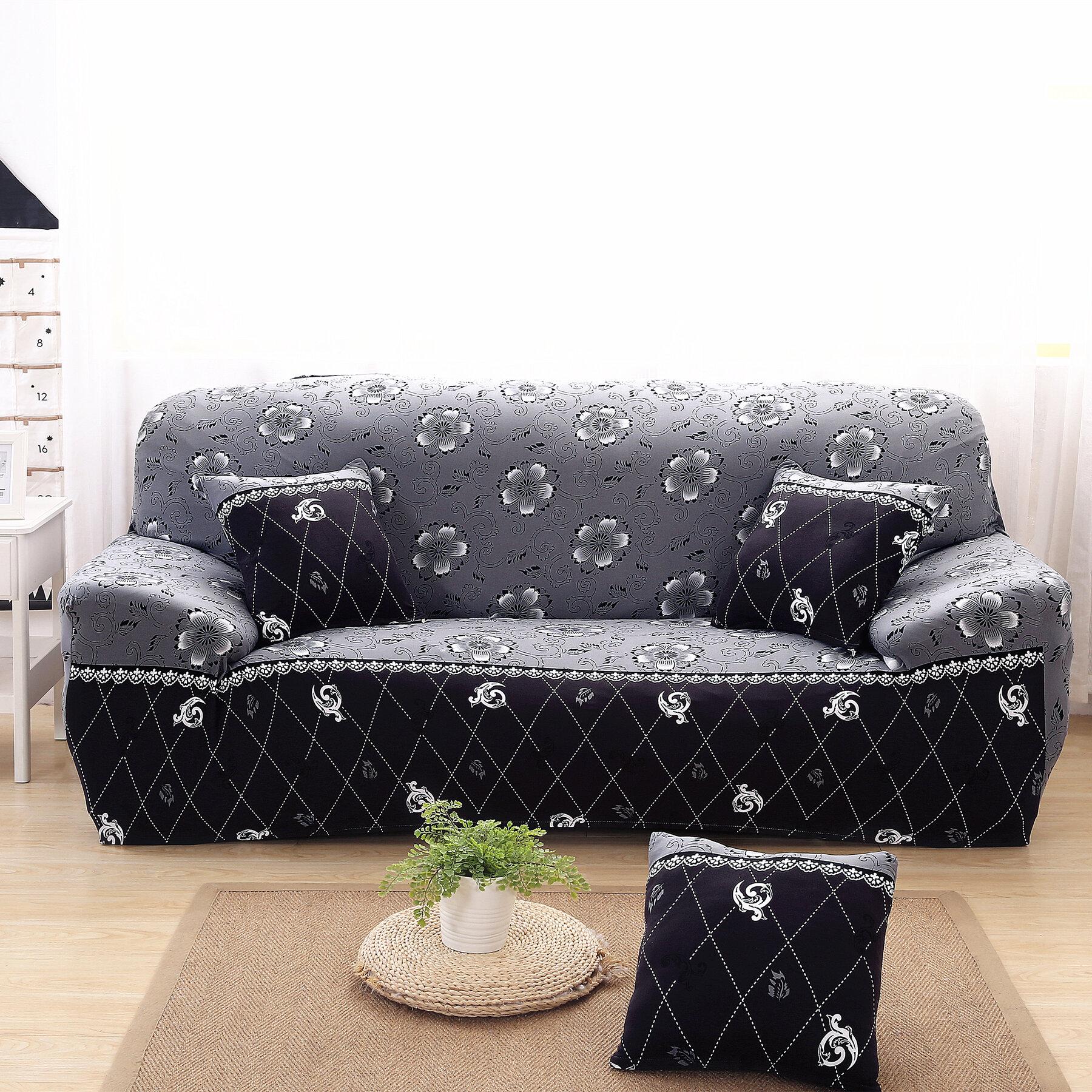 Ebern Designs Elegant Box Cushion Sofa