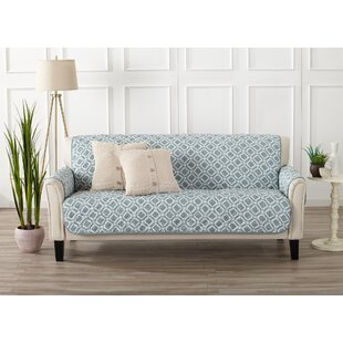 Affordable Price Box Cushion Sofa Slipcover by George Oliver Reviews (2019) & Buyer's Guide