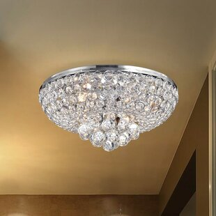 Mckee 4-Light Flush Mount