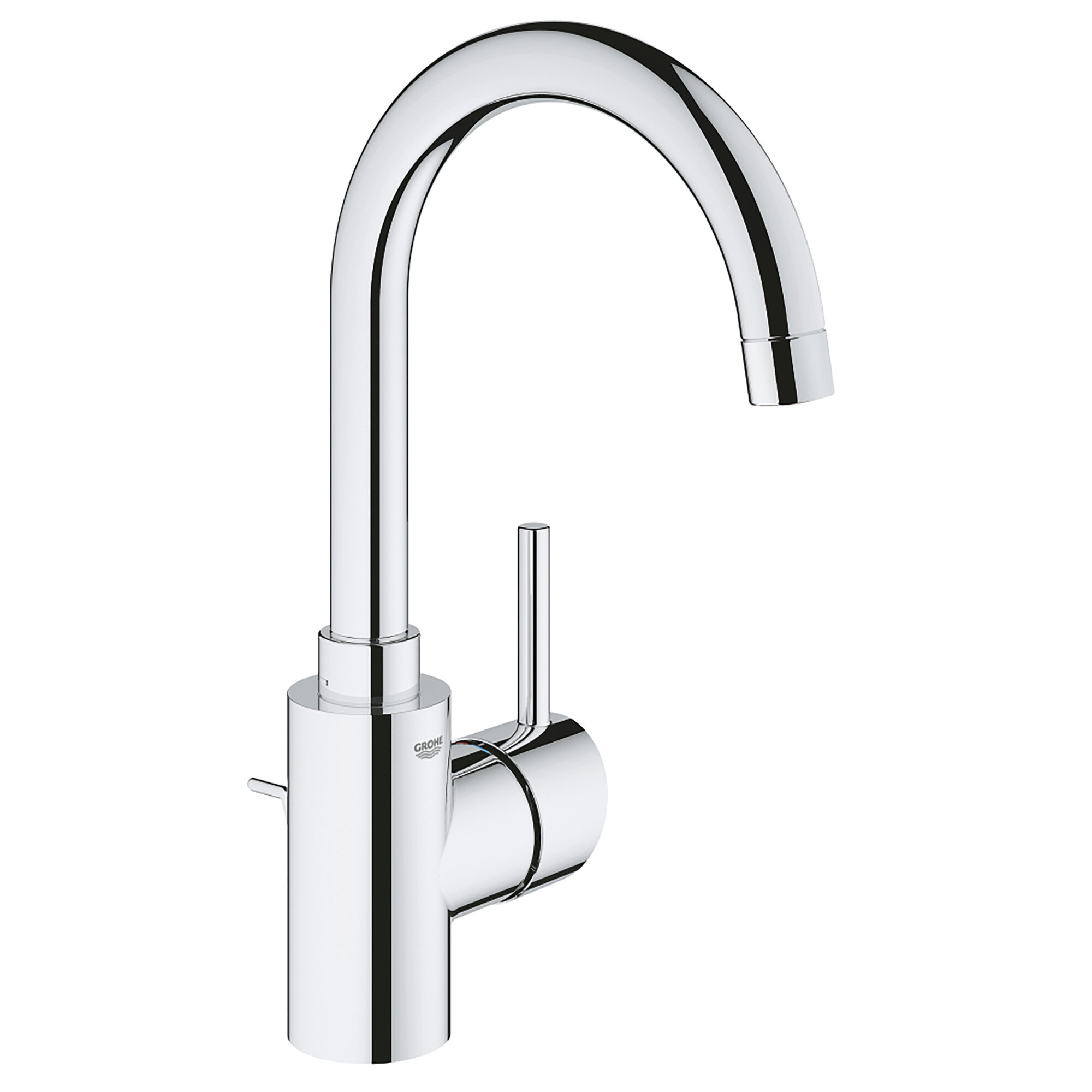 Grohe Concetto Handle Single Hole Bathroom Faucet With Drain Assembly Reviews Wayfair