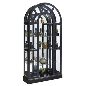 Mcclain Lighted Curio Cabinet by Longshore Tides