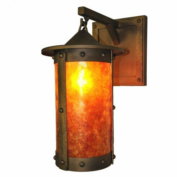 Steel Partners Rogue River Pasadena Hanging 1 Light Outdoor Wall Lantern U0026  Reviews | Wayfair
