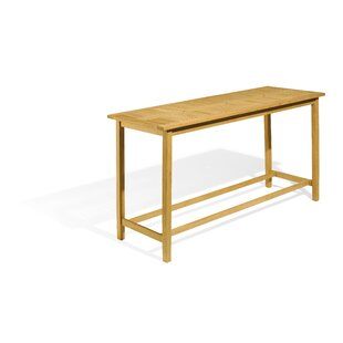 Morse Manufactured Wood Bar Table by Rosecliff Heights