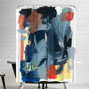 Olimpia Piccoli Through Here Shower Curtain by East Urban Home