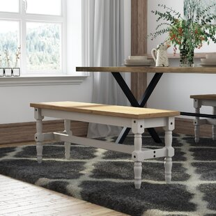 Top Reviews Pinard Solid Wood Bench ByGracie Oaks