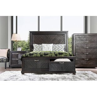 Gilstrap Queen Storage Panel Bed by Wrought Studio