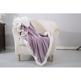 Noble House Mermaid Sherpa Throw Blanket