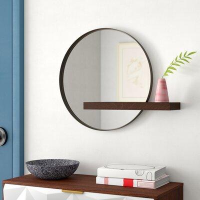 Modern Amp Contemporary 28 Inch Round Mirror Allmodern