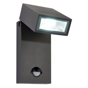 Pir security lights wayfair morti led outdoor sconce with pir sensor by endon lighting aloadofball Choice Image