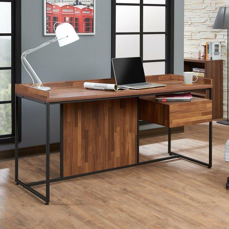 Union Rustic Kuhlman Contemporary Writing Desk Wayfair