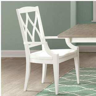 Remi Solid Wood Dining Chair (Set of 2) August Grove