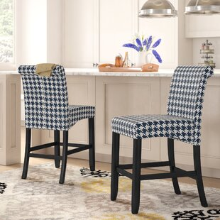 Gauthier 26 Bar Stool (Set of 2) Andover Mills