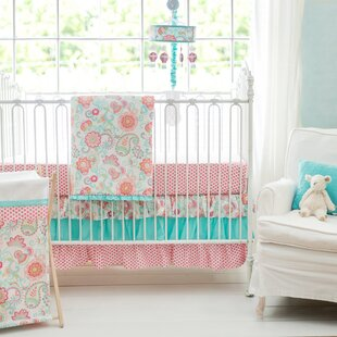 Sweatt 3 Piece Crib Bedding Set