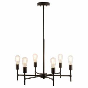 Sherri 6-Light LED Candle-Style Chandelier