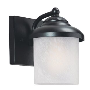 Atisha 10W 1-Light Outdoor Wall Lantern II