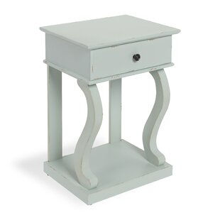 Astoria Farmhouse Chic 1 Drawer Nightstand