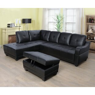 Annine 96 Sectional with Ottoman by Latitude Run