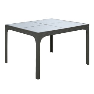 Candi Square Outdoor Metal Dining Table