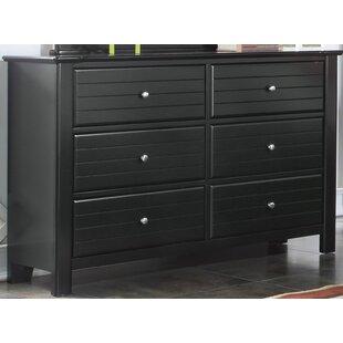 Chicago 6 Drawer Double Dresser by Harriet Bee