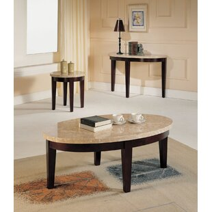 Guyton 3 Piece Coffee Table Set