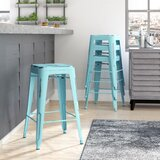 Isabel 26 Counter Stool (Set of 4) by Laurel Foundry Modern Farmhouse