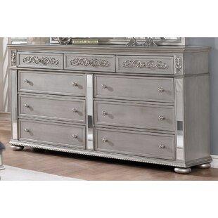 Nicolasa 9 Drawer Dresser