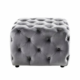 Lindberg Tufted Cube Ottoman