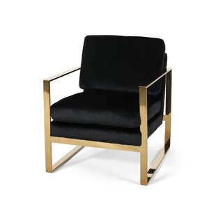 Progreso Modern Glam Armchair by Everly Quinn